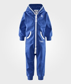 OnePiece Baby Jumpsuit Solid Strong Blue Melange