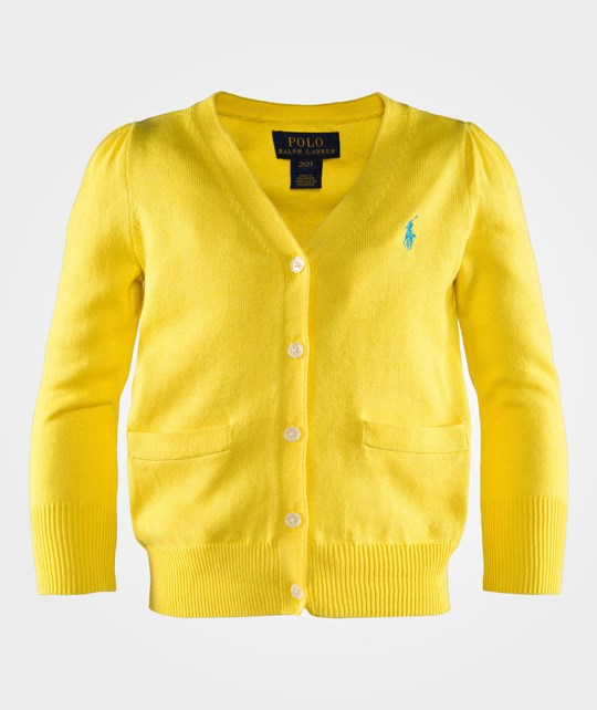 Ralph Lauren LS Pima Cardi PP Elite Yellow ELITE YELLOW