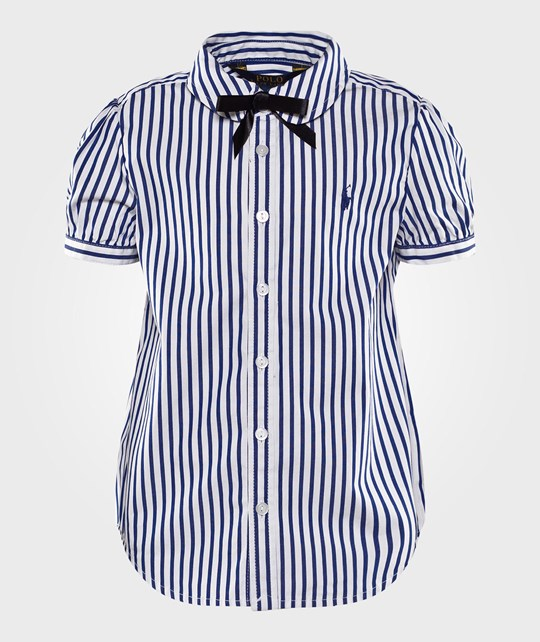 Ralph Lauren Short Sleeve Bengal Stripe Blue  blue multi