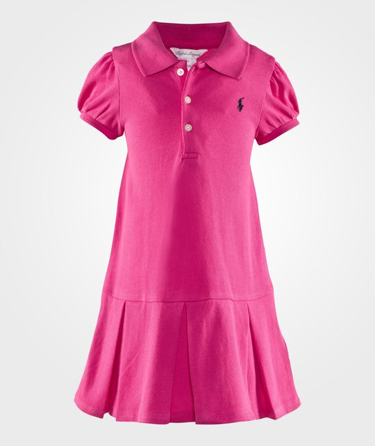 Ralph Lauren Платье Pleated Polo Dress Active Pink ACTIVE PINK