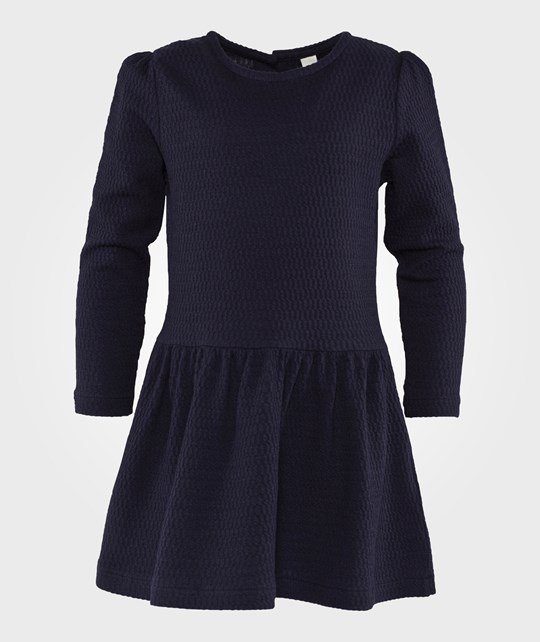 Esprit Fancy Knitted Dress Navy Navy