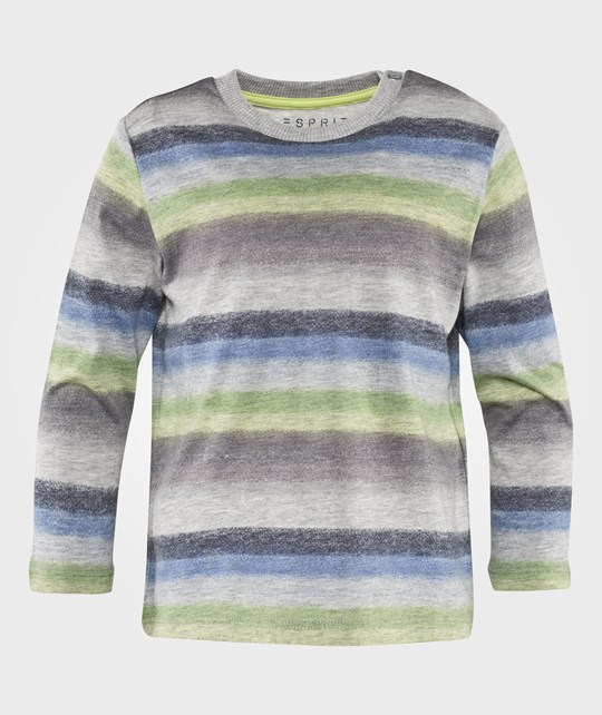 Esprit Stripe T-Shirt Bright Blue Bright Blue