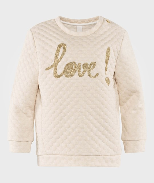 Esprit Love Sweatshirt Beige Off white