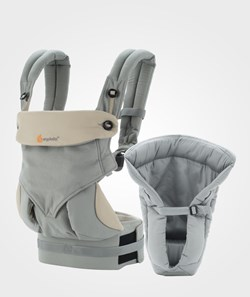 Ergobaby Four Position 360 Bundle of Joy Grey