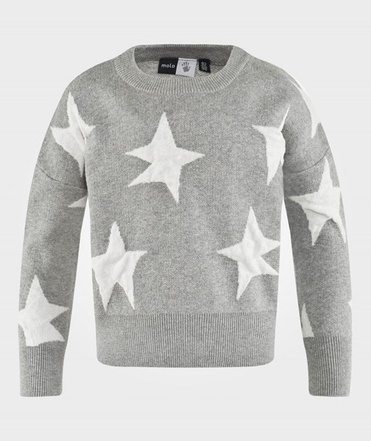 Molo Galaxy Jumpers Grey Melange Grey Melange