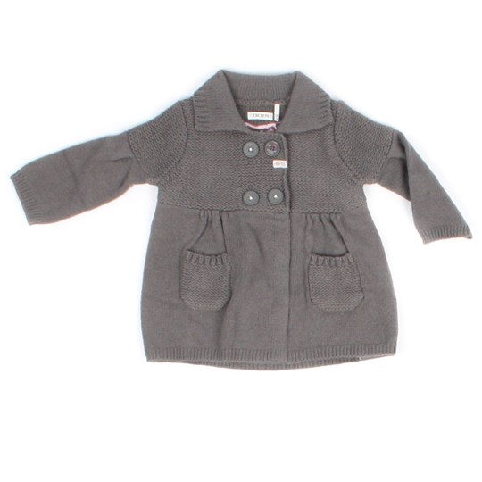 IKKS Cardigan Veste Gray Sort