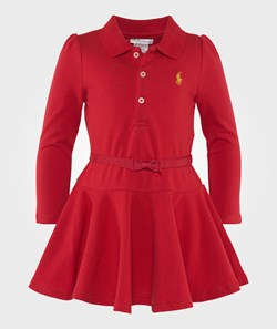 Ralph Lauren Cotton Polo Dress & Bloomer Red