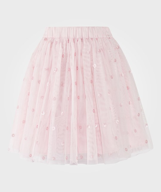The Little White Company Sequin Spot Tutu Whisper Pink Pink