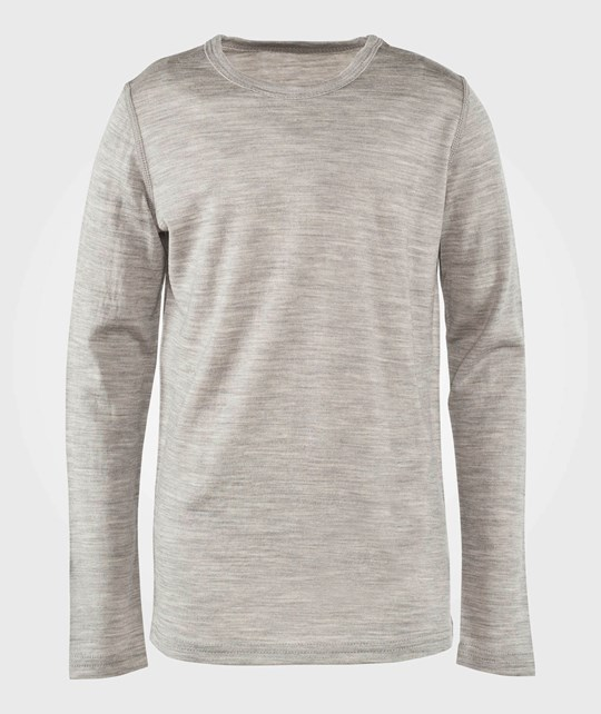 Voksi Wool/Silk Top Grey Black