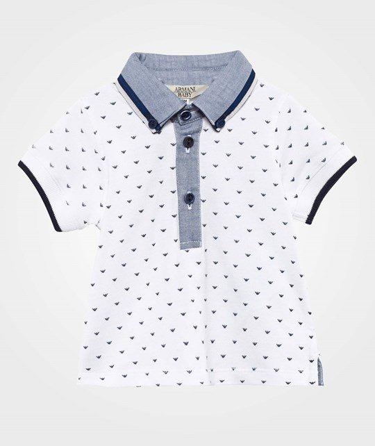 Emporio Armani Polo Shirt Patterned Patterned