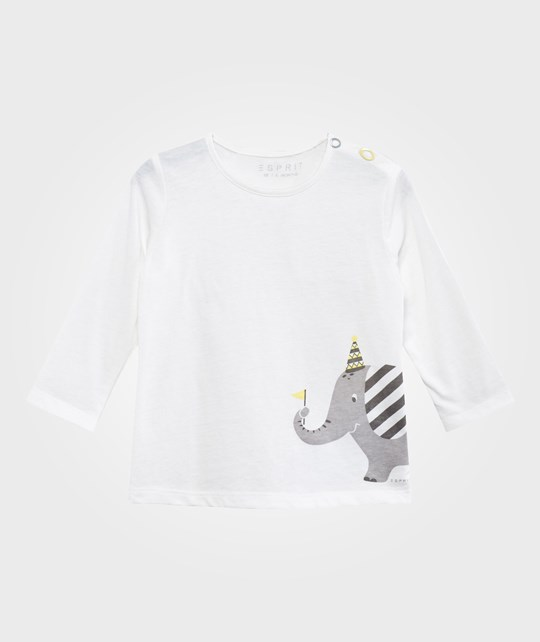 Esprit Elephant T-shirt Off White Off white