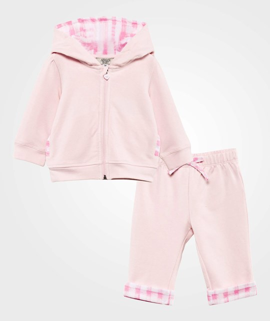 Emporio Armani Set Top And Bottoms Pink Pink