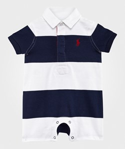 Ralph Lauren Cotton Jersey Rugby Shortall French Navy