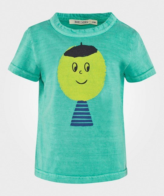 Bobo Choses T-shirt Artist Moss Green Moss green