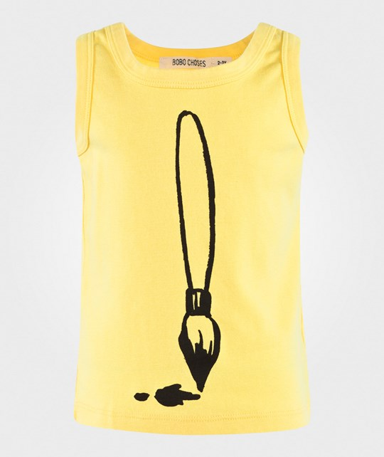 Bobo Choses Tank Top Brush Curry Curry
