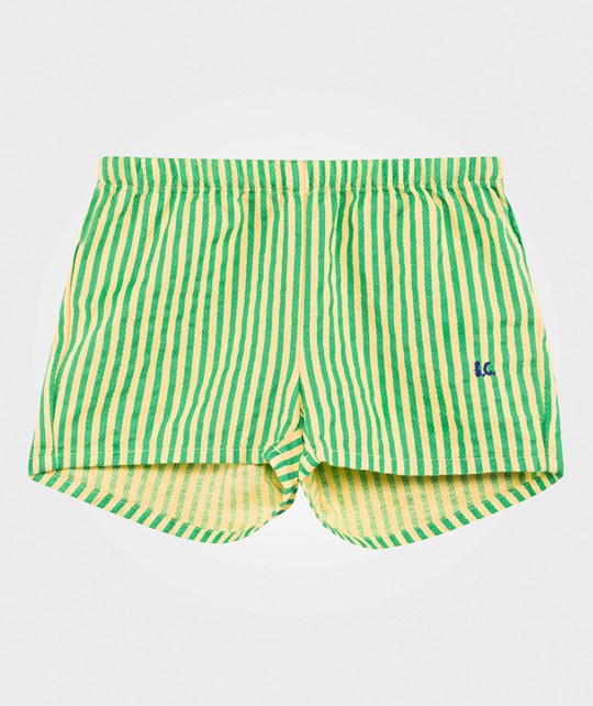 Bobo Choses Stripes Shorts Curry Curry
