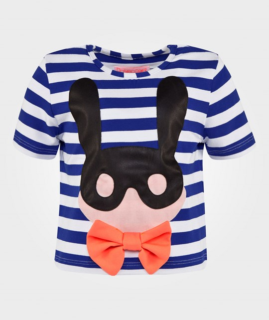 BANGBANG Copenhagen Bunny T-Shirt Striped Black & White Striped