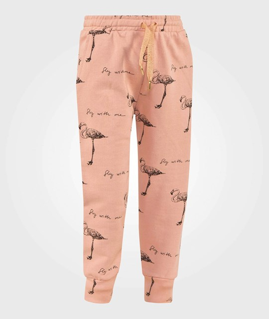 Soft Gallery Charline Pants Rose Cloud Rose Cloud AOP Fly Flamingo Big