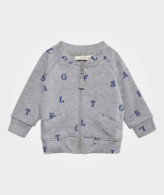 Soft Gallery Shay Jacket Grey Melange Grey Melange AOP Letters Small