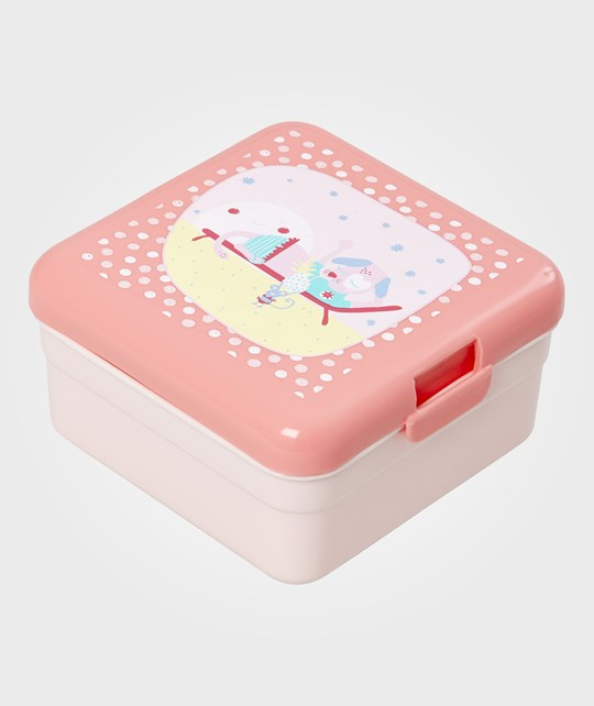Rice Small Happy Camper Lunchbox розовый