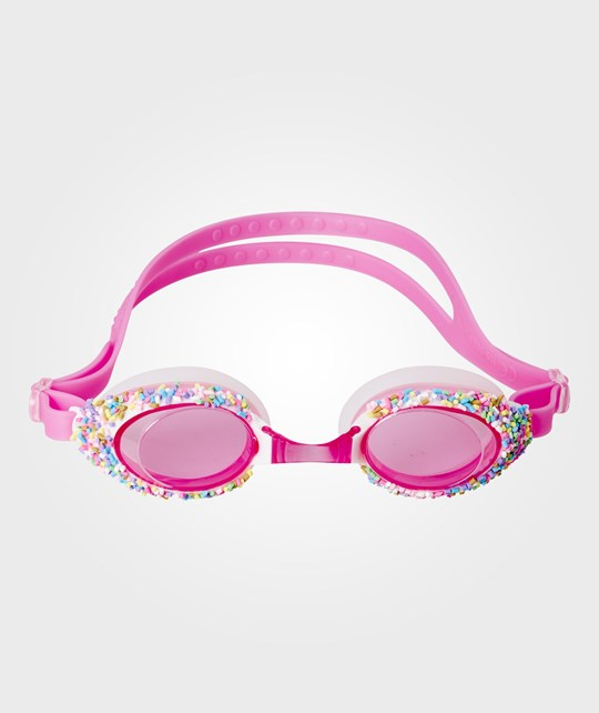 Rice Swimming Goggles with Sprinkles Pink Rosa