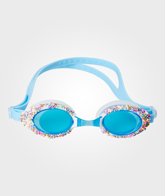 Rice Swimming Goggles with Sprinkles Blue Blue