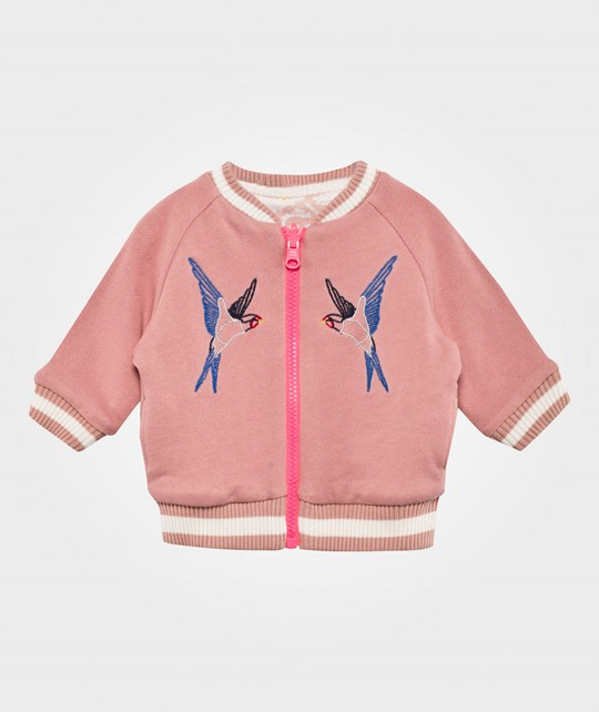 Stella McCartney Kids Cottonwood Reversible Jacket Dusky Pink Dusky Pink