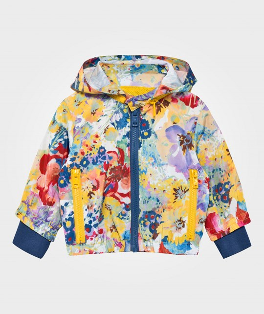 Stella McCartney Kids Floral Scout Baby Jacket  Bright Floral Pr