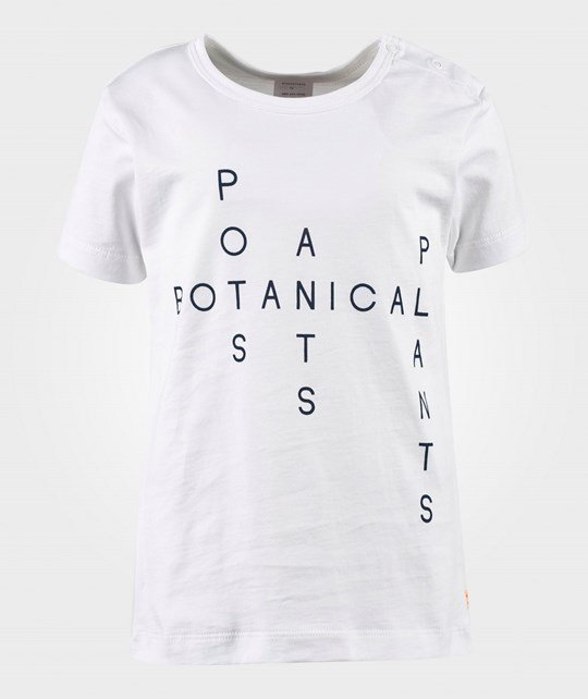 Tinycottons Crosswords Tee White White