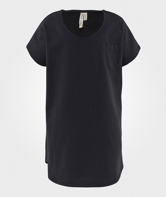 Gray Label Oversized Tee Dress Nearly Black Nearly Black