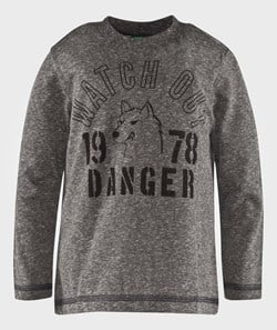 United Colors of Benetton Wolf T-Shirt Grey
