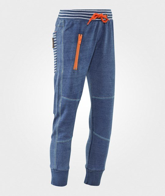 Me Too Cagri Sweatpants Blue Denim Blue Denim