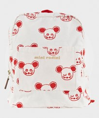 Mini Rodini Mouse Backpack Red Red