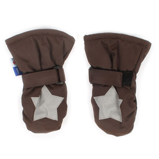 Molo Mitzy Mittens Saddle BROWN