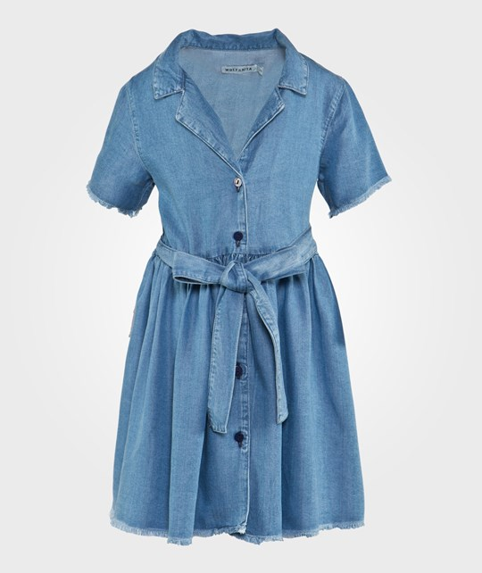 Wolf & Rita Bruna Dress Light Denim Blue Light denim blue