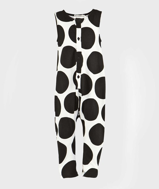 Wolf & Rita Martim Jumpsuit White With Black Dots White with black dots