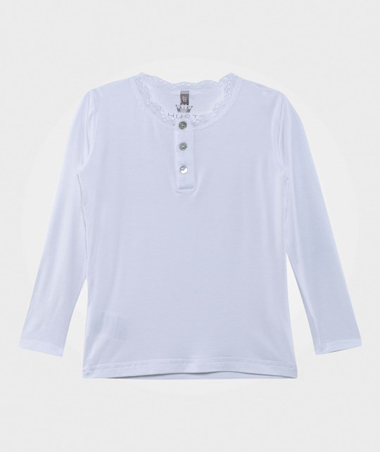 Hust&Claire Lace Bamboo T-Shirt White White