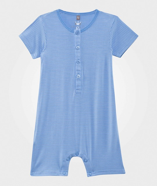 Hust&Claire Пижама Jumpsuit Striped - Bamboo Blue Mist Blue Mist