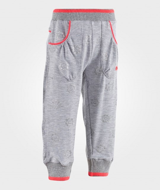 Me Too Carma Pants Sweat Grey Melange Grey Melange