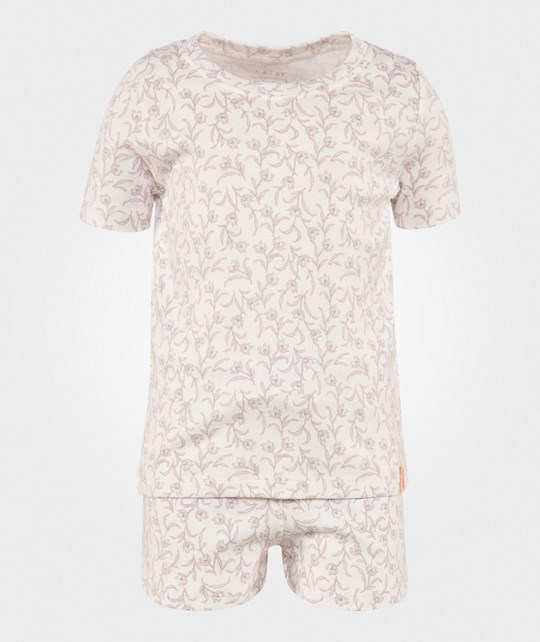 Noa Noa Miniature Sleepwear Set Chalk Chalk