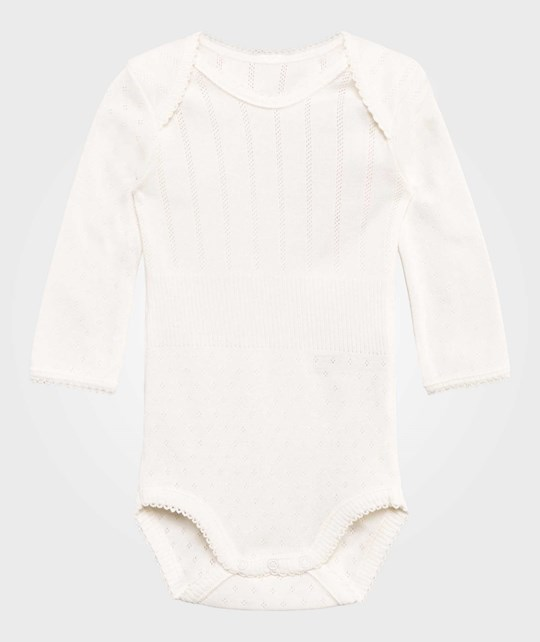 Noa Noa Miniature Baby Body,Long Sleeve/No Legs Chalk Chalk