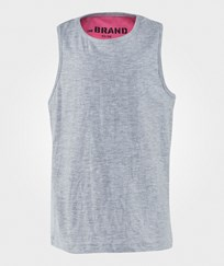 The BRAND Double Tank Grey Black