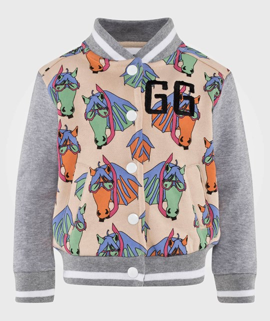 Gardner and the gang The Baseball Jacket Pete the Pony  Grey/Beige
