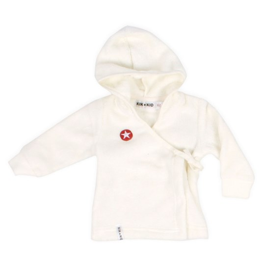 Kik Kid Wrapjacket Fur Vit White