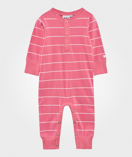 ebbe Kids Glassig Baby Body Suit Vivid Pink/Offwh Vivid Pink /Offwh