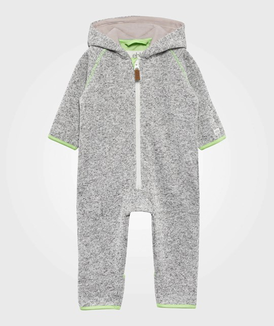 ebbe Kids Fleece Bodysuit Silver Grey Silver Grey