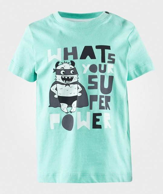 Esprit Super Power T-Shirt Light Aqua Green Grøn