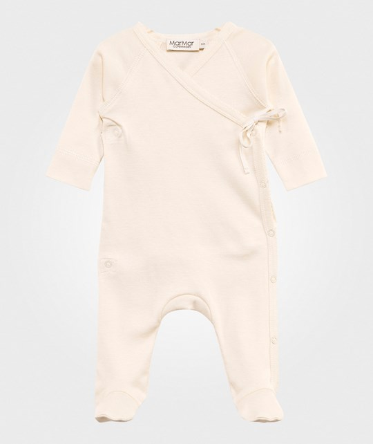 MarMar Copenhagen Rubetta Footed Baby Body Off White White