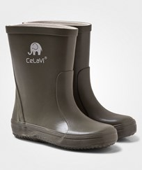 Celavi Basic Wellies Solid Army Army