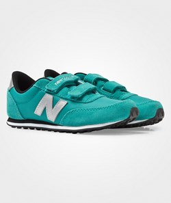 New Balance 410 Hook and Loop Teal/Grey